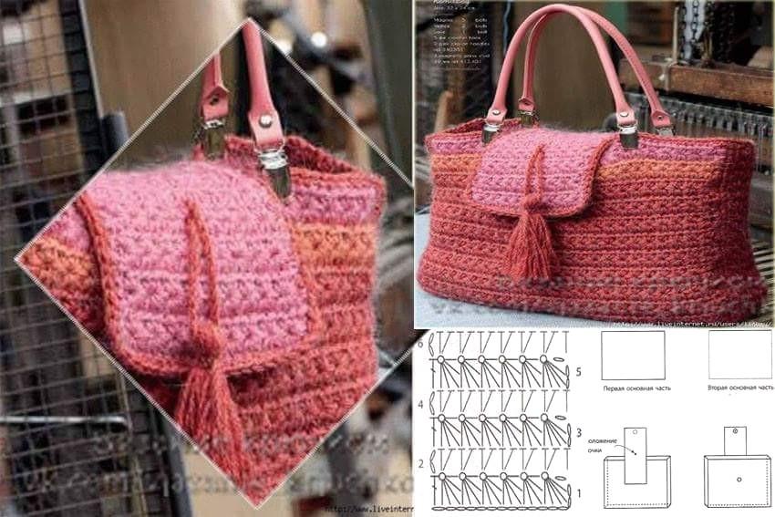 10 bolsos para cualquier ocasión en crochet