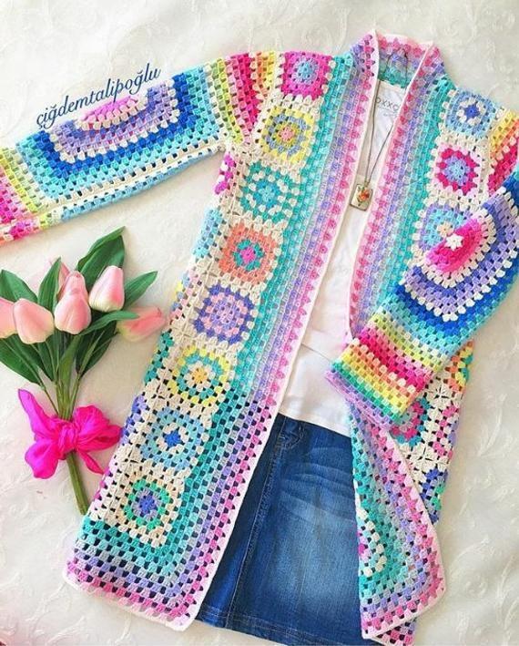 tutorial abrigo crochet