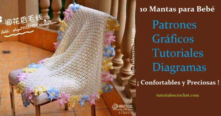 10 Mantitas confortables para tu bebé