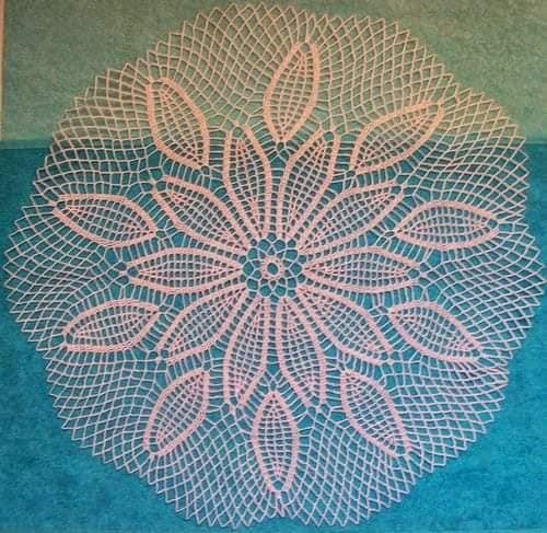 paños hechos en crochet