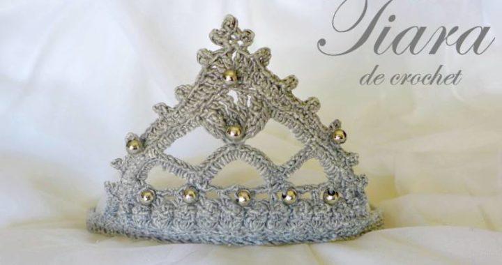 tutorial tiara crochet