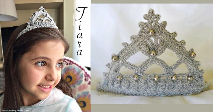 ¿Tienes una princesita en casa? ¡Hazle esta preciosa Tiara!