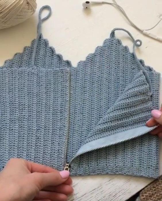 ¡ Hazte tus propios Tops o musculosas en crochet !
